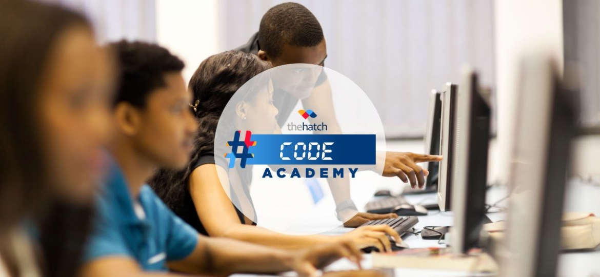 Young people learning to code